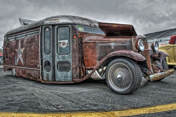 Custom Rat Rod Pictures 14