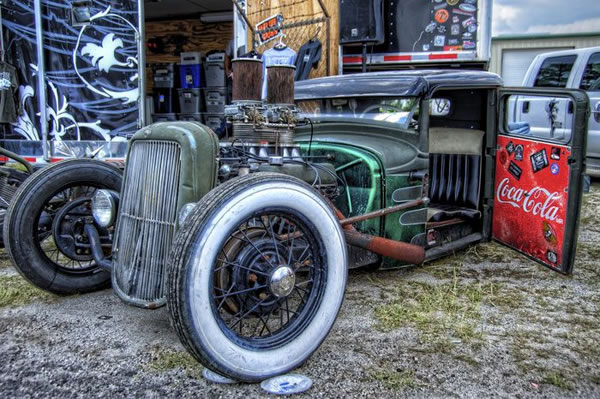 Custom Rat Rod Pictures 16