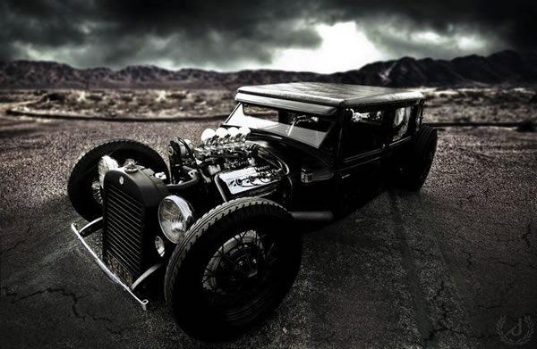 Custom Rat Rod Pictures 21