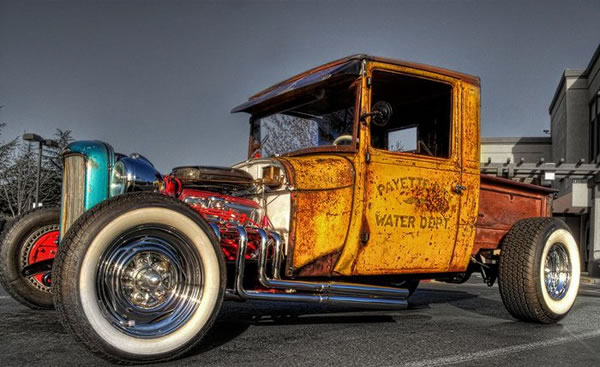 Custom Rat Rod Pictures 22