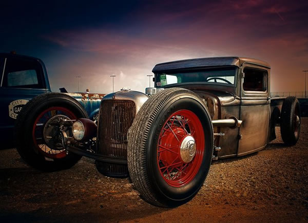 Custom Rat Rod Pictures 23