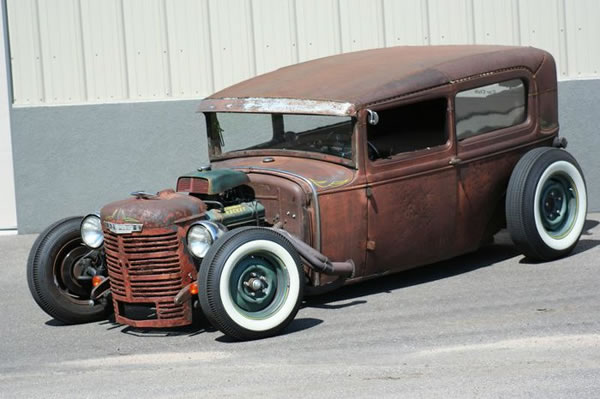 Custom Rat Rod Pictures 24