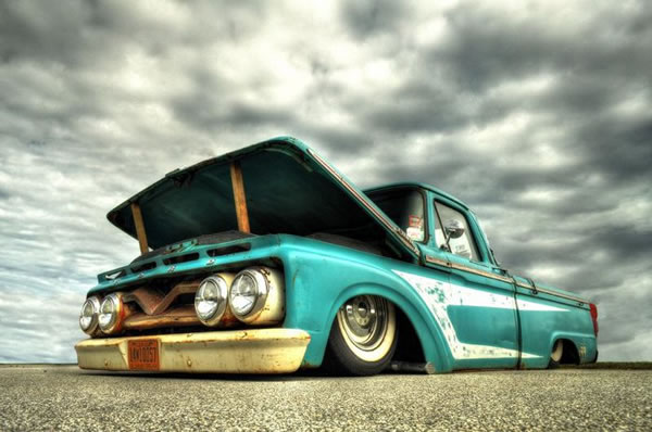 Custom Rat Rod Pictures 27