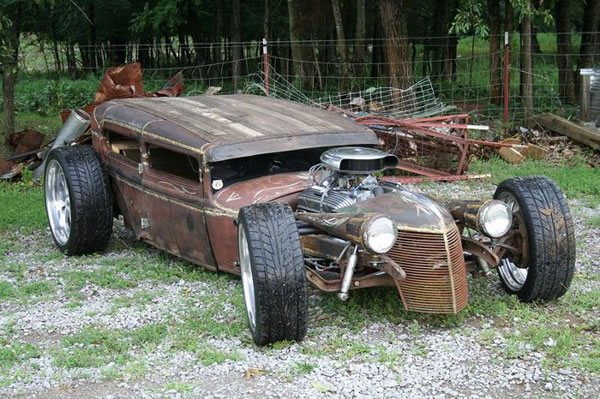 Custom Rat Rod Pictures 28