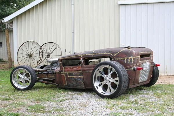Custom Rat Rod Pictures 29