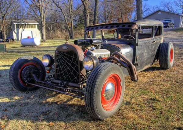 Custom Rat Rod Pictures 4