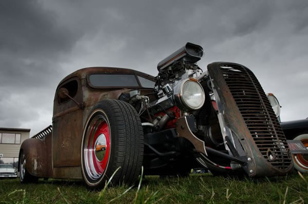 Custom Rat Rod Pictures 5