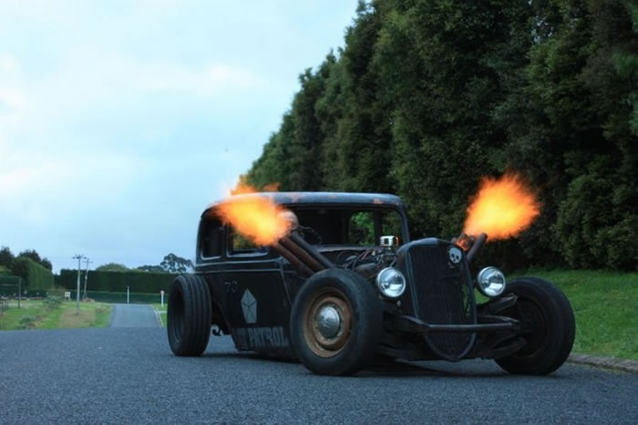 Custom Rat Rod Pictures