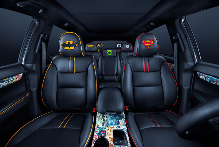 DC Entertainment Adds Kia Sorento To Their Justice League Themed cars 5