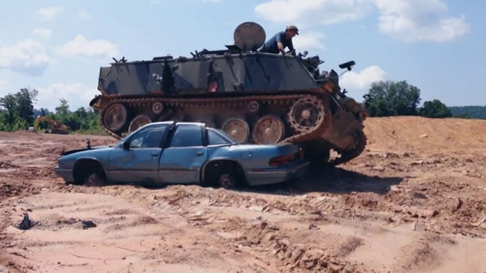 Ever Wanted To Do Tank Driving 5