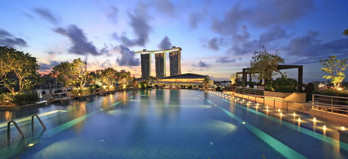 Singapore Hotel With Infinity Pool On Rooftop Image So Which Of These Top 10 Scariest Rooftop Hotel Pools Would You Love