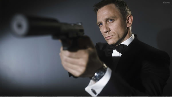 James Bond Guns