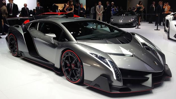 New Lamborghini Veneno 217 Mph 4 1 Million Dollar Supercar