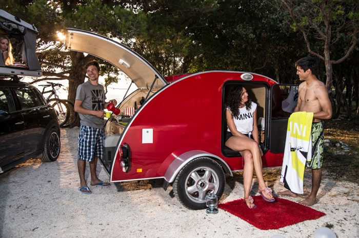 Bmw Unveil 3 Mini Camping Concept Cars For The Summer