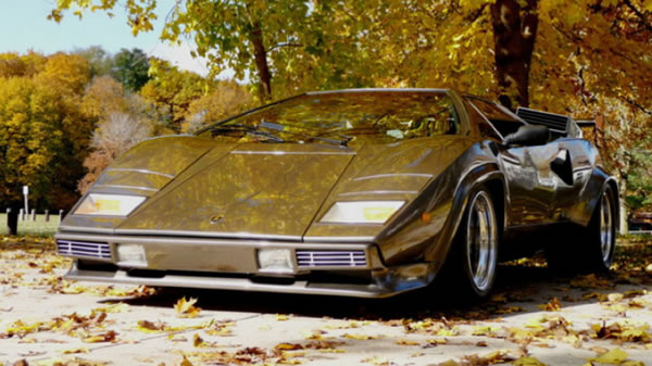 man builds lamborghini countach in basement. Black Bedroom Furniture Sets. Home Design Ideas