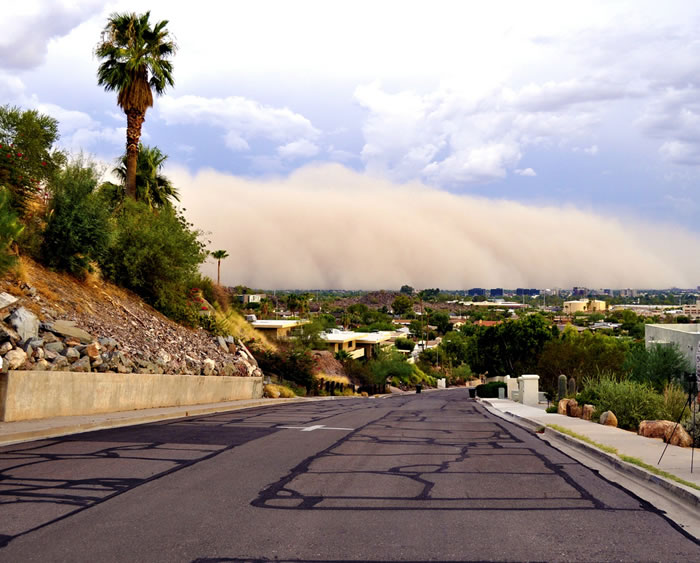 Photos of Dust Storms 11