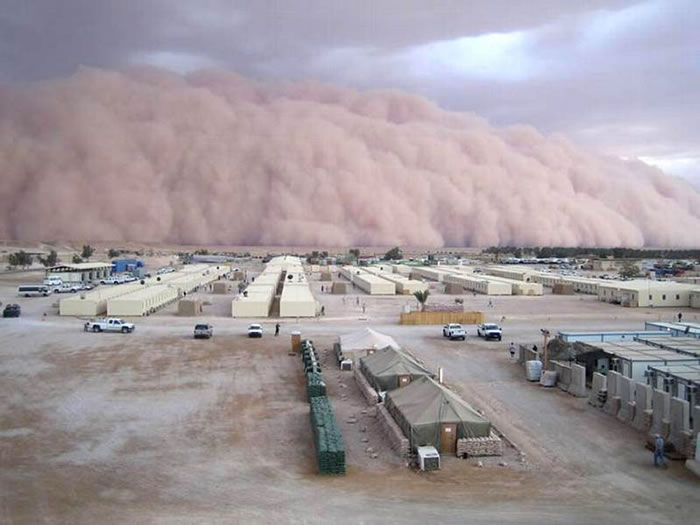 Photos of Dust Storms 12