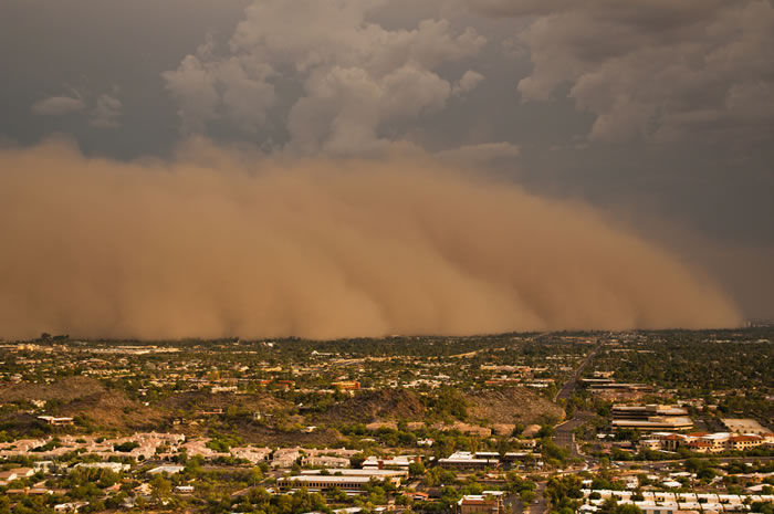 Photos of Dust Storms 14
