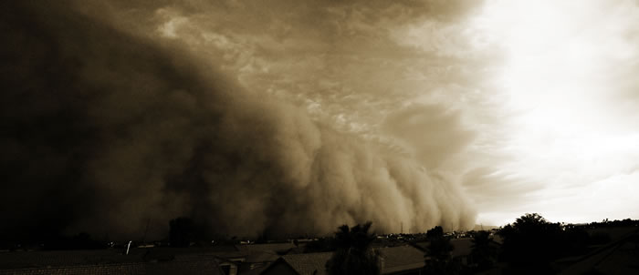 Photos of Dust Storms 15