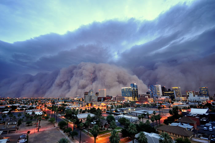 Photos of Dust Storms 2