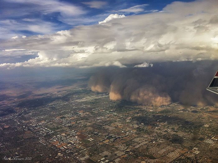 Photos of Dust Storms 4