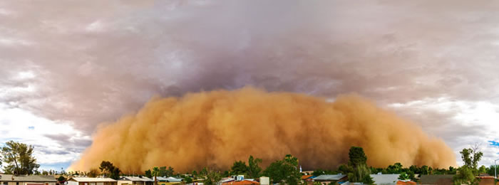 Photos of Dust Storms 6