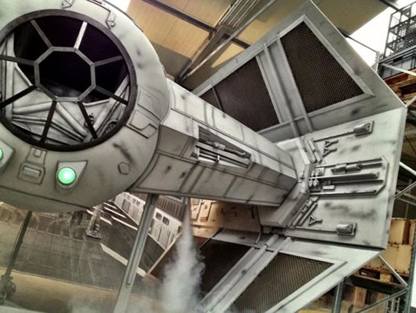 Star Wars Fans Build Full Size Imperial Tie Fighter 2