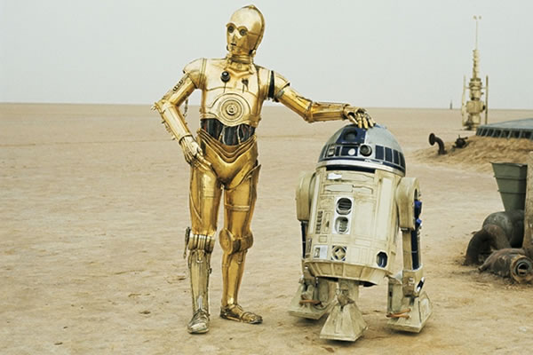 Vintage C3PO Rap Video Featuring R2-D2