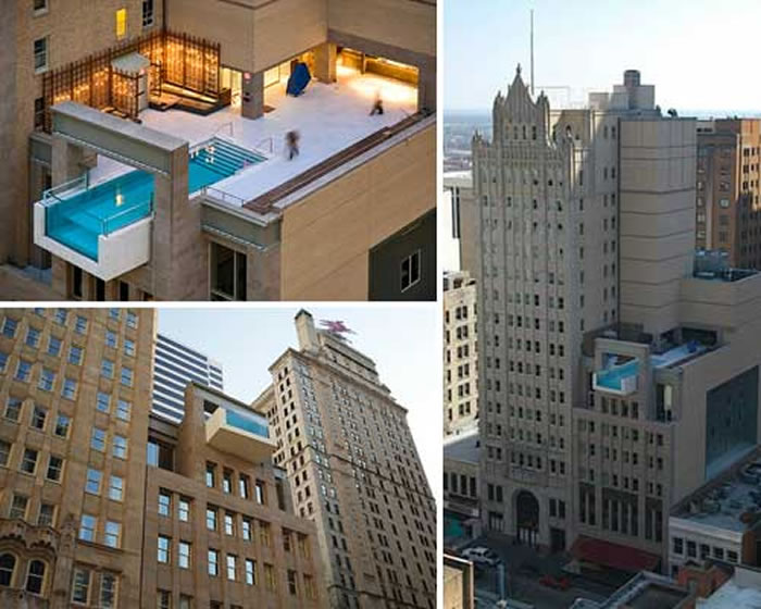 Pool On Top Of Building : Top scariest rooftop hotel pools
