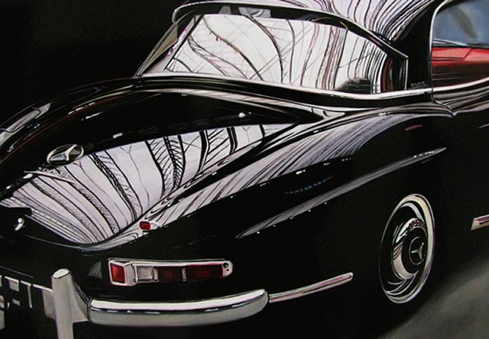 Amazing Photorealistic Art Of Classic Cars