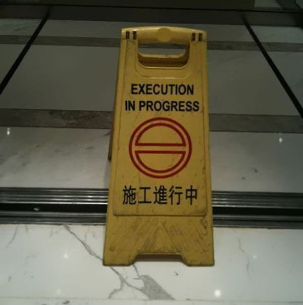 Chinese Sign Translation Fails 22
