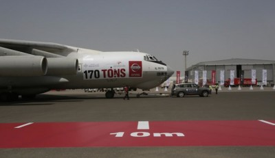 Nissan Patrol Tows Cargo Plane And Breaks World Record