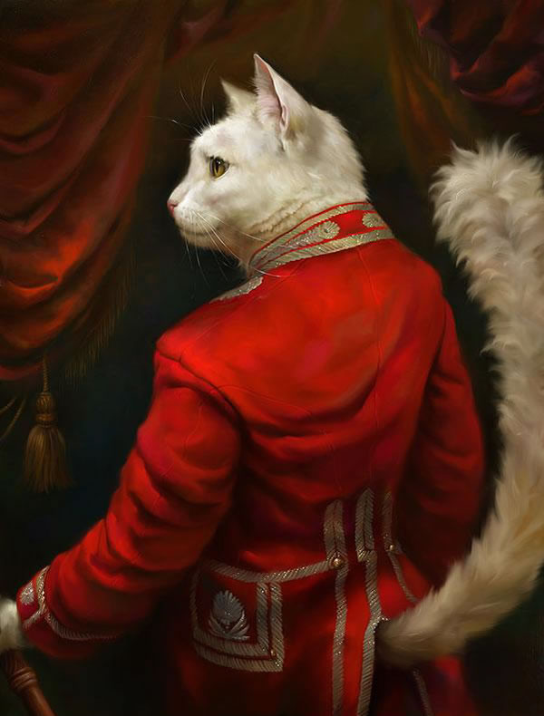 Portraits Of Cats Dressed Up As Royalty 1
