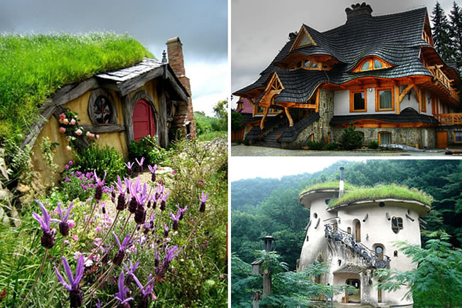 Top Ten Storybook Cottage Fantasy In The Woods