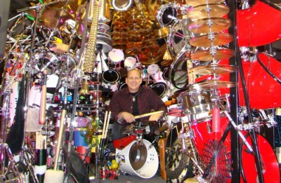 World's Largest Drum Set Is Owned By Rock N Roll Pastor