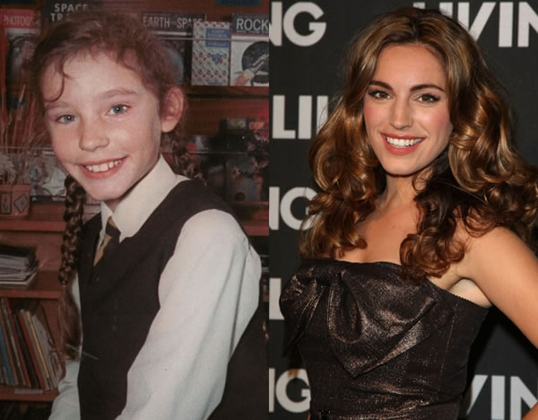 celebs when they were young and now 10