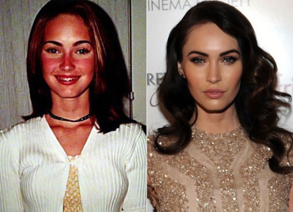 celebs when they were young and now 12