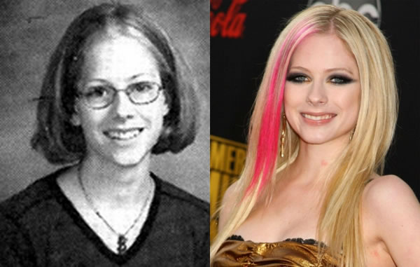 celebs when they were young and now 3