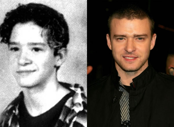 celebs when they were young and now 8