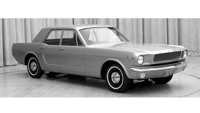 1965 Mustang four-door concept