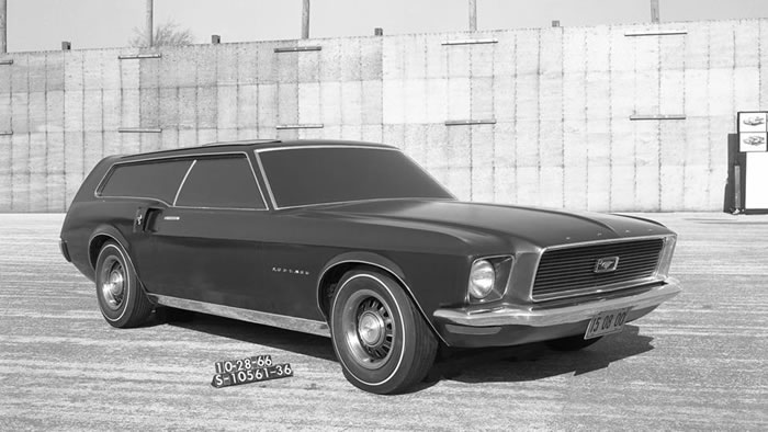 1966 Mustang station-wagon concept