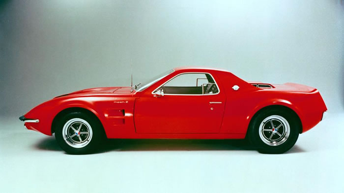 1967 Mustang Mach II Concept