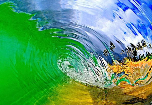 Amazing Pictures Taken Inside A Wave 2