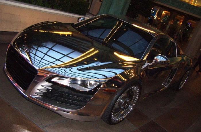 Chrome Tron Audi R8 By West Coast Customs 2
