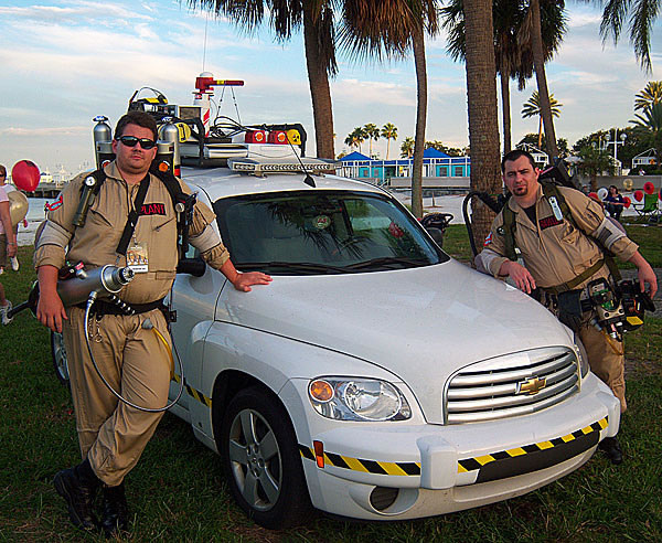 Ghostbuster Movie Fans Build Modern Ecto 1 Car 4