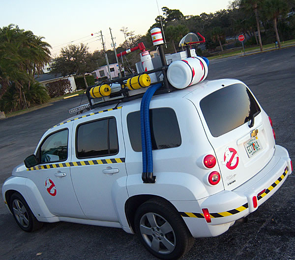 Ghostbuster Movie Fans Build Modern Ecto 1 Car 5