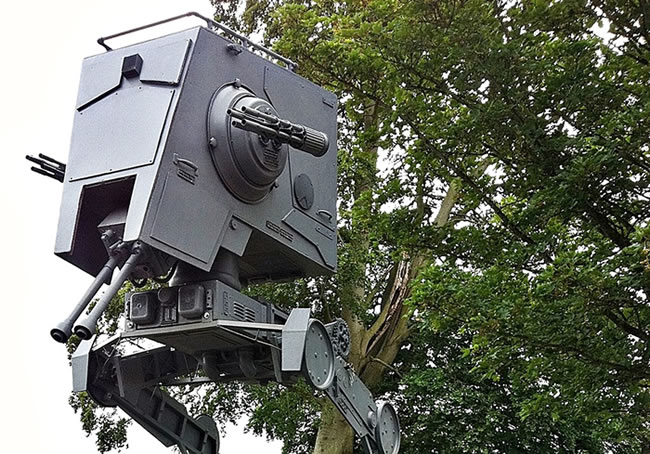 Life Sized Star Wars At-St Scout Walker For Sale On eBay 1