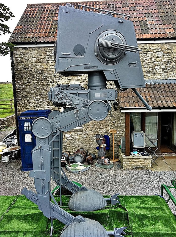 Life Sized Star Wars At-St Scout Walker For Sale On eBay 2