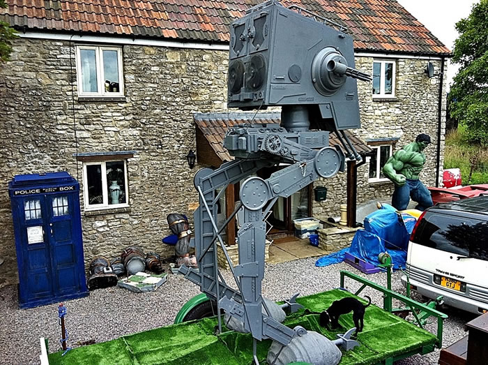 Life Sized Star Wars At-St Scout Walker For Sale On eBay 4