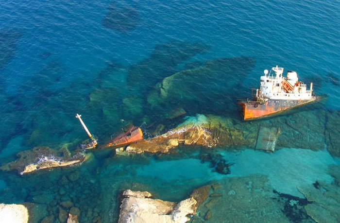 Pictures Of Shipwrecks Around The World 8